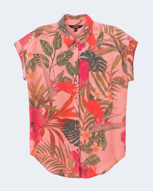 Camicia manica corta Desigual ROUS Rosa – 65619