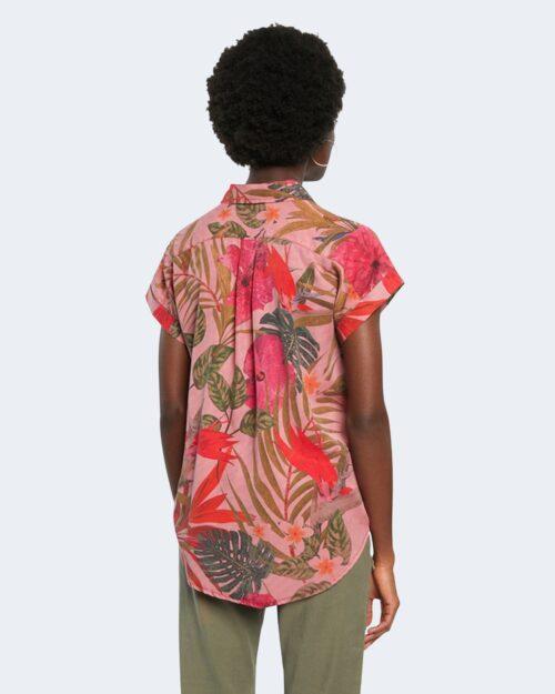 Camicia manica corta Desigual ROUS Rosa - Foto 4