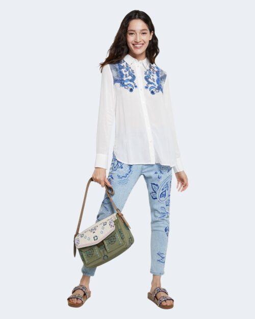 Camicia manica lunga Desigual BARCINO Bianco - Foto 1