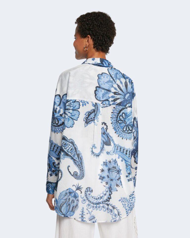 Camicia manica lunga Desigual INARA Bianco - Foto 3
