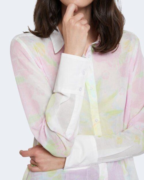 Camicia manica lunga Desigual YUKON Bianco - Foto 3