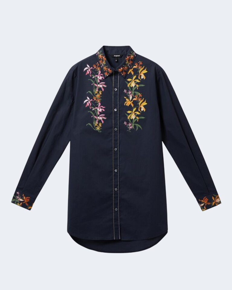 Camicia manica lunga Desigual VAILINA Blu - Foto 1