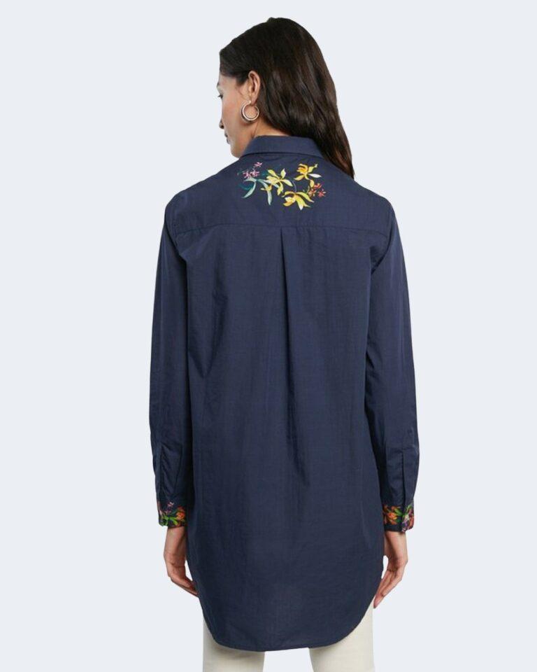 Camicia manica lunga Desigual VAILINA Blu - Foto 4