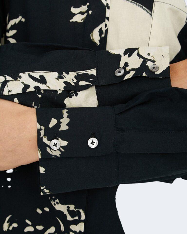 Camicia manica lunga Desigual NILO Nero - Foto 4