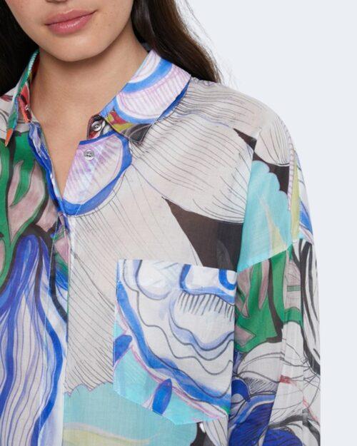Camicia manica lunga Desigual OCASO Nero - Foto 3