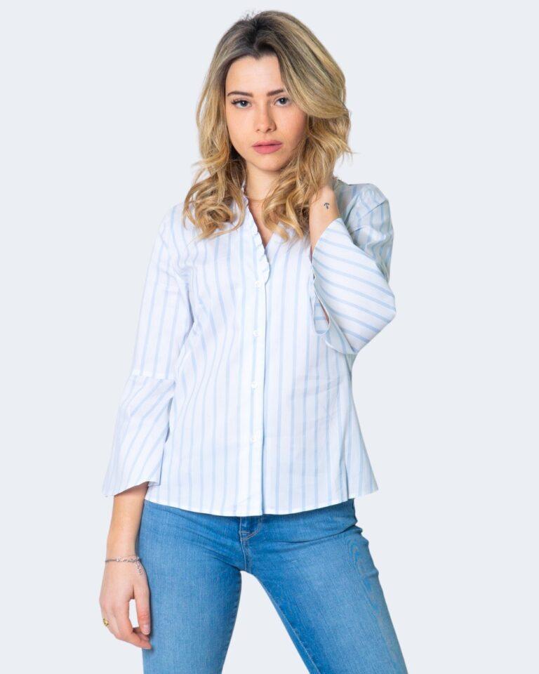 Camicia manica lunga Emme Marella DOMUS Azzurro - Foto 1