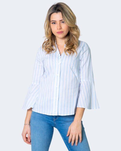 Camicia manica lunga Emme Marella DOMUS Azzurro - Foto 2