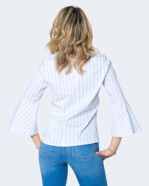 Camicia manica lunga Emme Marella DOMUS Azzurro - Foto 3