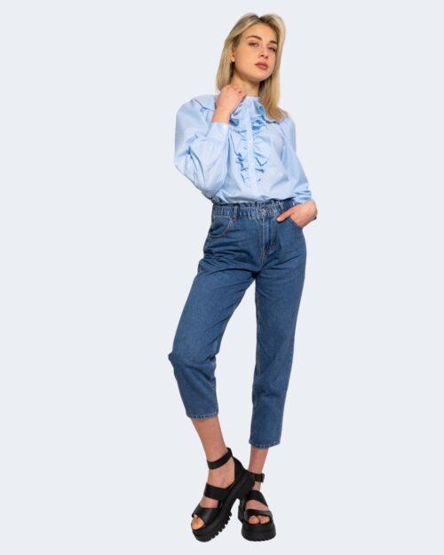 Camicia manica lunga Only GWENDA Celeste – 63322