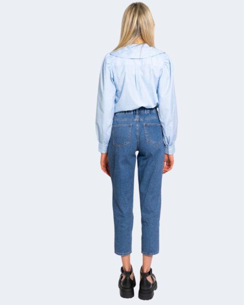Camicia manica lunga Only GWENDA Celeste - Foto 3