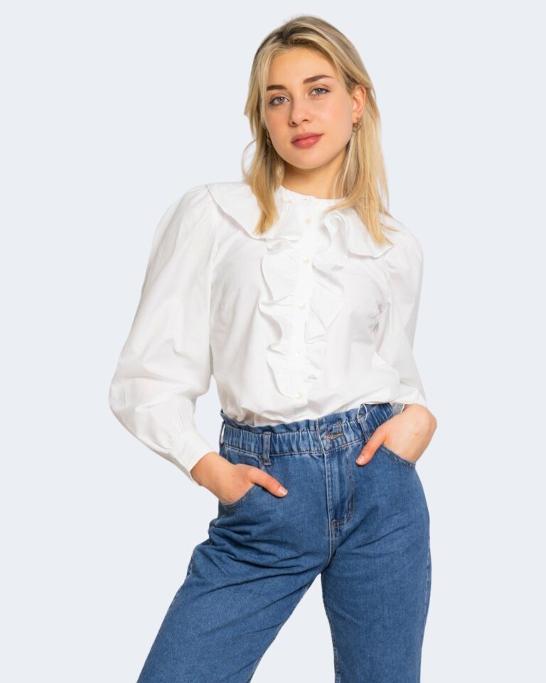 Camicia manica lunga Only GWENDA Panna - Foto 1