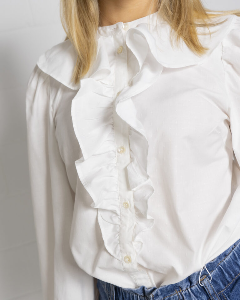 Camicia manica lunga Only GWENDA Panna - Foto 4
