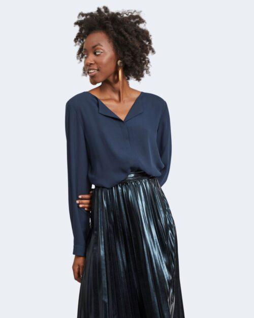 Bluse manica lunga Vila Clothes Lucy Blue scuro – 40607