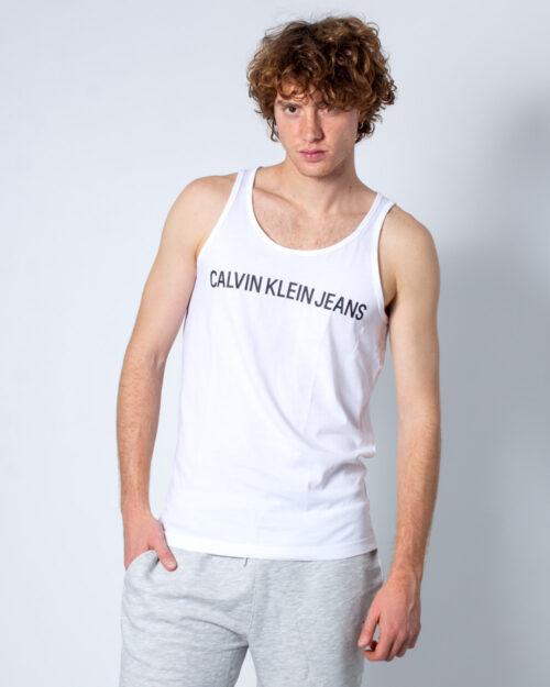 Canotta Calvin Klein Institutional Logo Reg Bianco – 40563