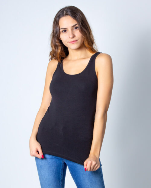 Canotta Only LIVE LOVE TANK TOP NOOS Nero - Foto 2