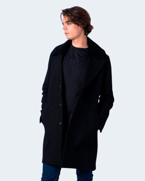 Cappotto Antony Morato Slim fit Twill Nero – 59684