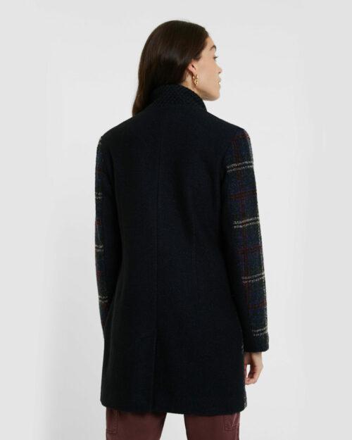 Cappotto Desigual ABRIG HAAKON Blue scuro – 61409