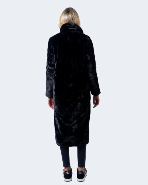 Cappotto Only Frida Long Faux Fur Coat Otw Nero – 59624