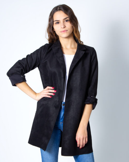 Cappotto Only Joline Faux Suede Coat CC Otw Nero – 40548