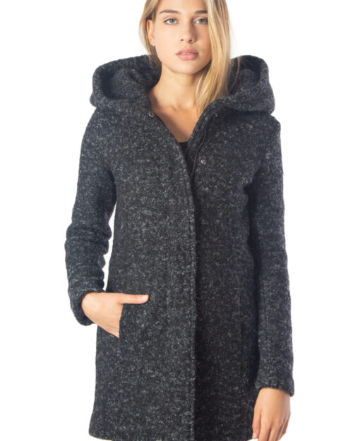 Cappotto Only SEDONA BOUCLE WOOL COAT NOOS Nero - Foto 1