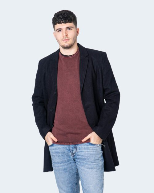 Cappotto Only & Sons Julian Solid Wool Coat Noos Nero – 61330
