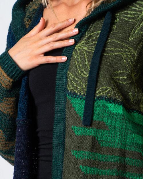 Cardigan Desigual JERS CONSTANZA Verde - Foto 4
