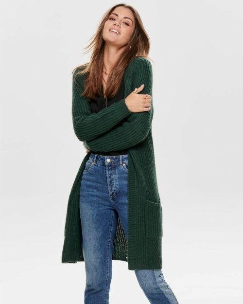 Cardigan Only Bernice L/S Knt Noos Verde – 36688