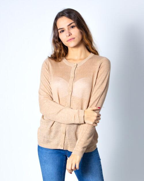 Cardigan Vila Clothes Filak Knit L/S Cardigan Noos Beige – 40540