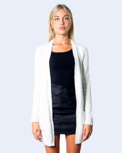 Cardigan Vila Clothes FEAMI Bianco – 55027