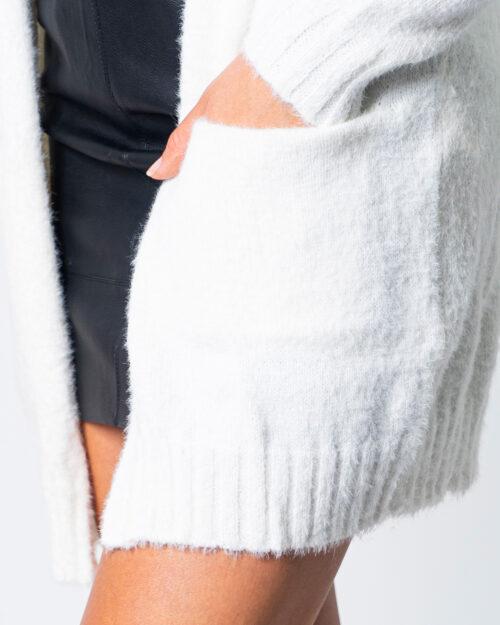Cardigan Vila Clothes FEAMI Bianco - Foto 4