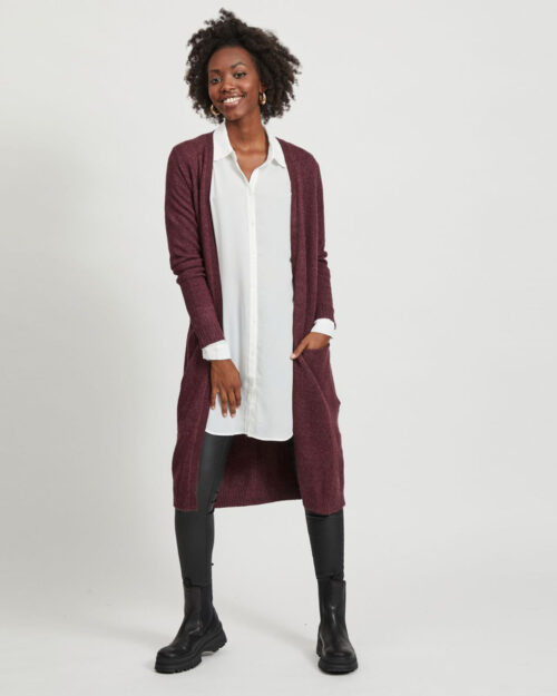 Cardigan Vila Clothes VIRIL Bordeaux – 28092