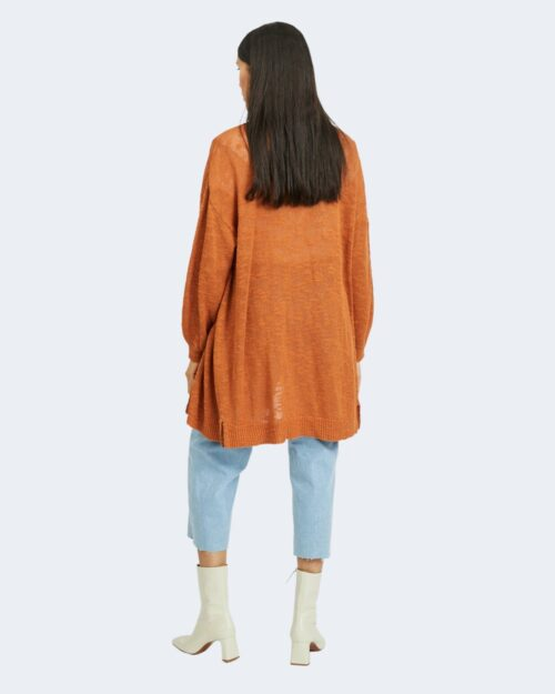Cardigan Vila Clothes POCA OPEN Bronzo – 62980