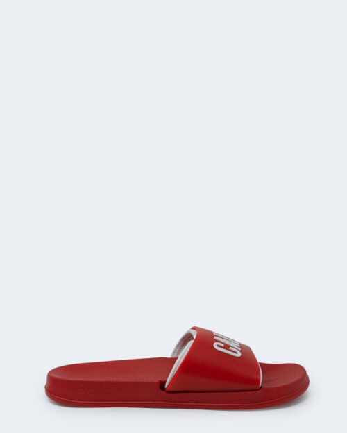 Ciabatte Calvin Klein Slide Rosso – 44226