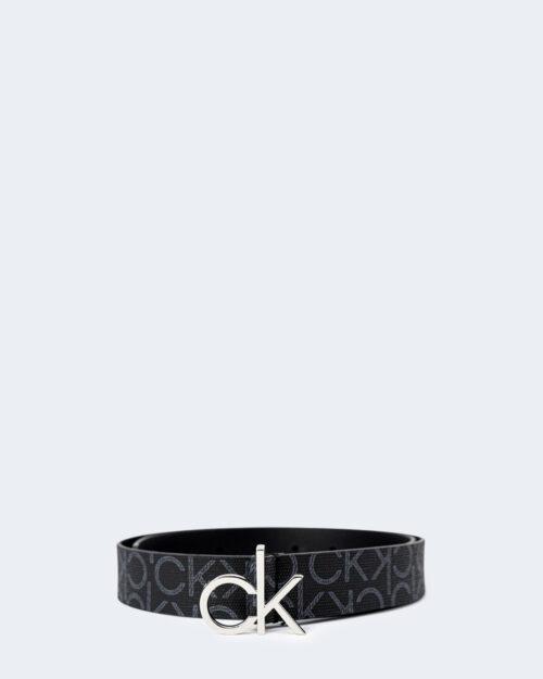 Cinta Calvin Klein LOGO BELT Nero - Foto 1