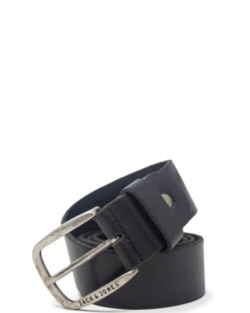Cinta Jack Jones Paul Leather Belt Noos Nero – 38260