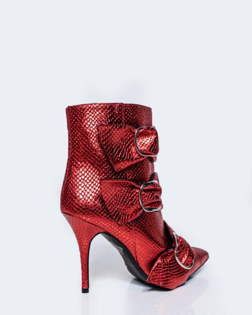 Scarpe con tacco Aniye By NITA SNAKE BOOTS Rosso - Foto 3