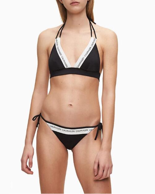 Costume da bagno Calvin Klein String Side Tie Bikini Nero – 44153