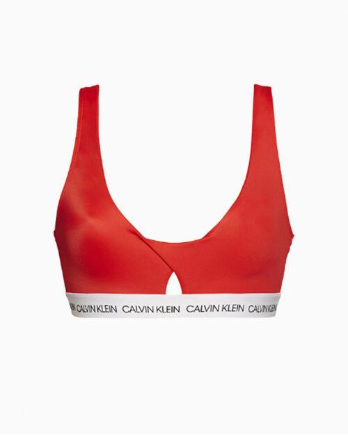 Costume da bagno Calvin Klein Twiat Bralette Rosso – 44150