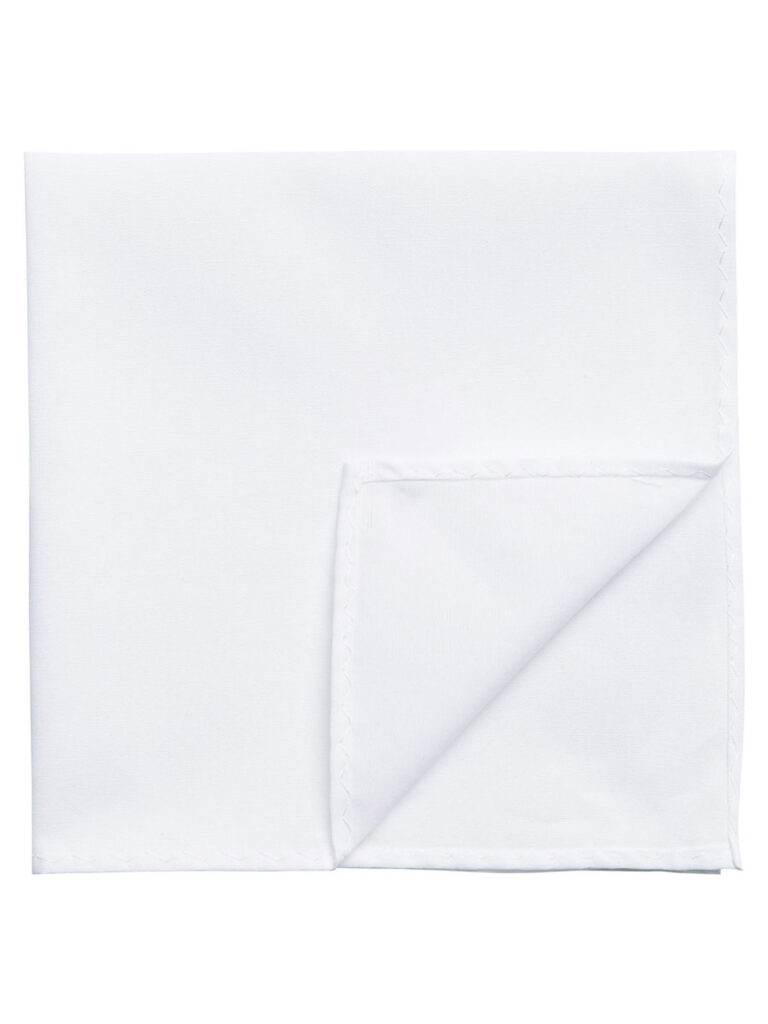 Cravatta Jack Jones NOOS HANKIE FAZZOLETTO DA TASCHINO Bianco - Foto 1