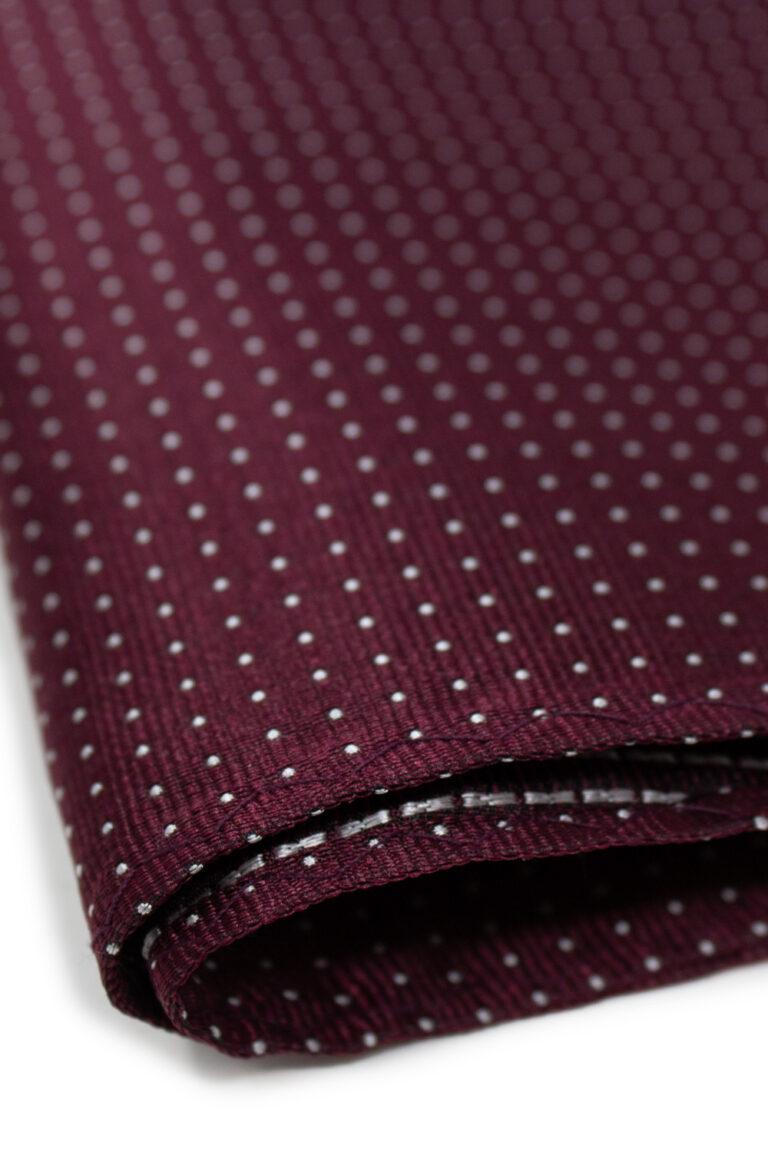 Cravatta Jack Jones NOOS HANKIE FAZZOLETTO DA TASCHINO Bordeaux - Foto 2