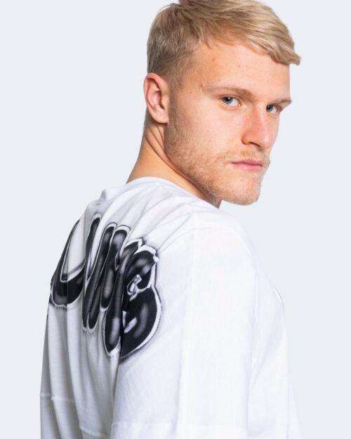 T-shirt Disclaimer  Bianco – 66465