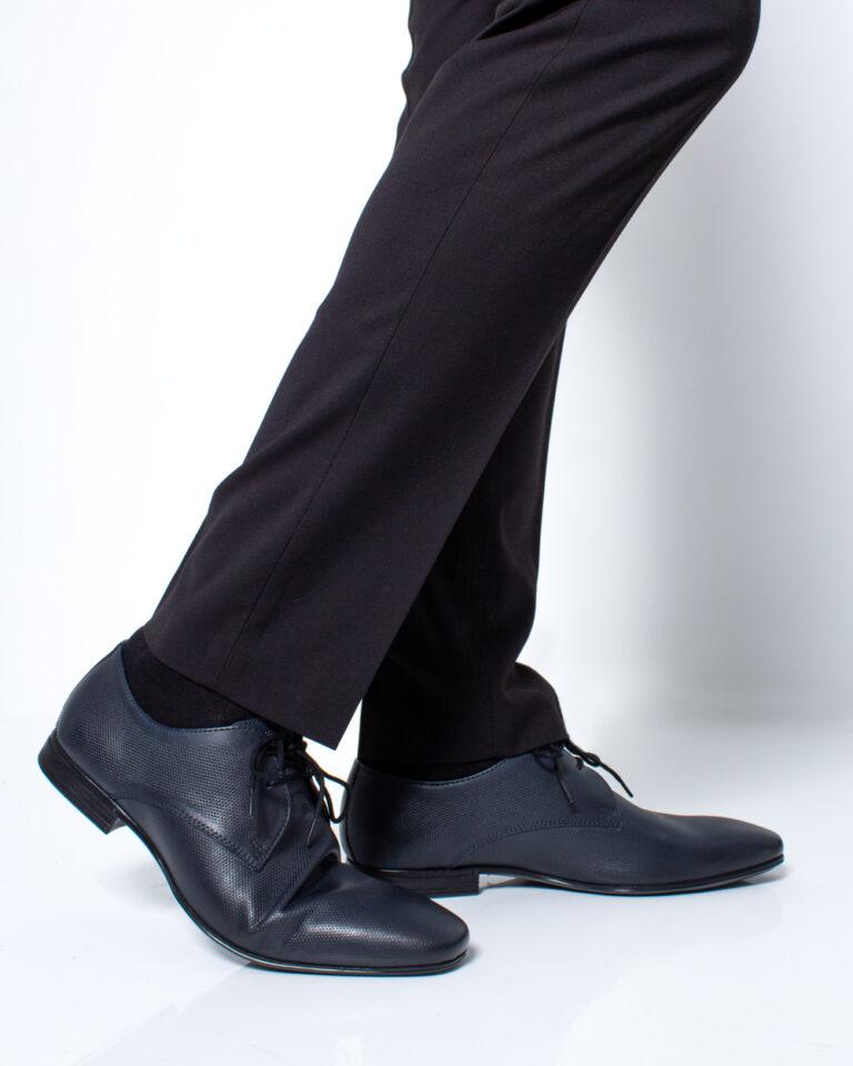 Scarpe eleganti Antony Morato Derby Classico Blue scuro - Foto 1