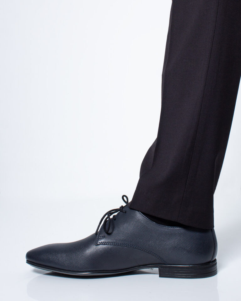Scarpe eleganti Antony Morato Derby Classico Blue scuro - Foto 2