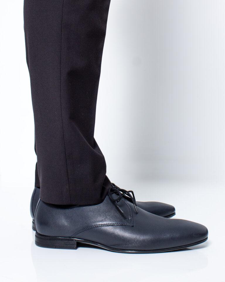 Scarpe eleganti Antony Morato Derby Classico Blue scuro - Foto 3