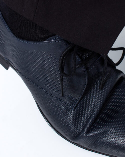 Scarpe eleganti Antony Morato Derby Classico Blue scuro - Foto 4