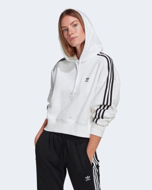 Felpa con cappuccio Adidas SHORT HOODIE Bianco – 62924