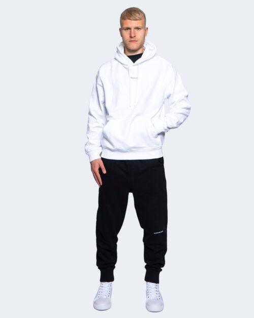 Felpa con cappuccio Calvin Klein MICRO BRANDING HOODI Bianco – 64617
