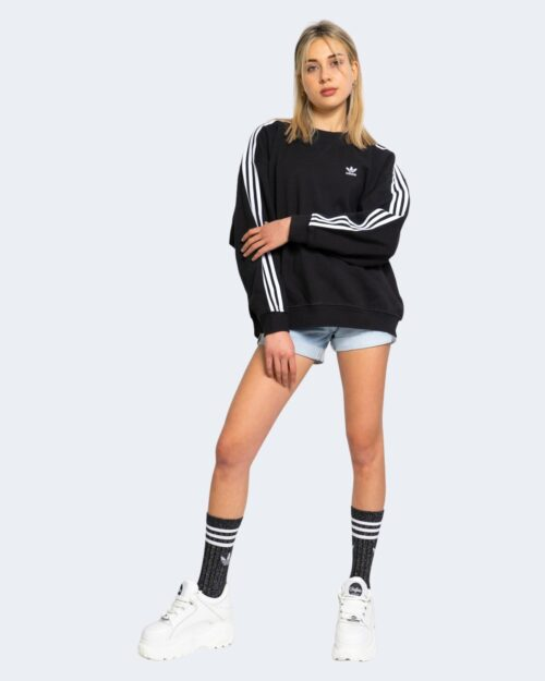 Felpa senza cappuccio Adidas SWEATSHIRT Nero – 66493