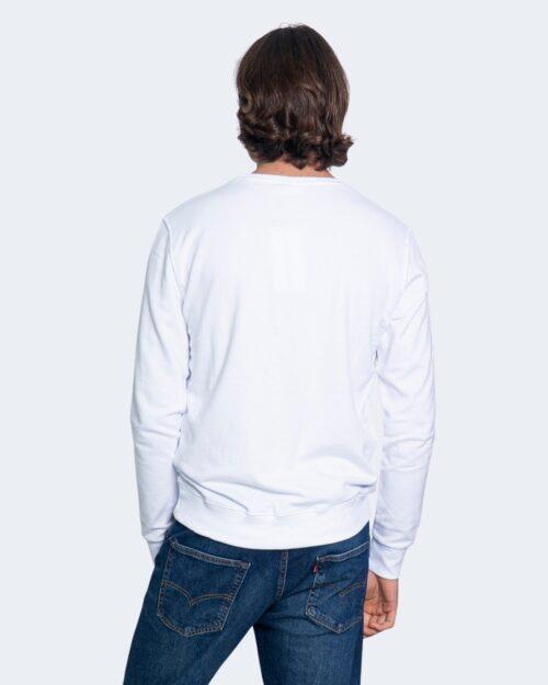 Felpa senza cappuccio Calvin Klein MONOGRAM LOGO Bianco – 65245