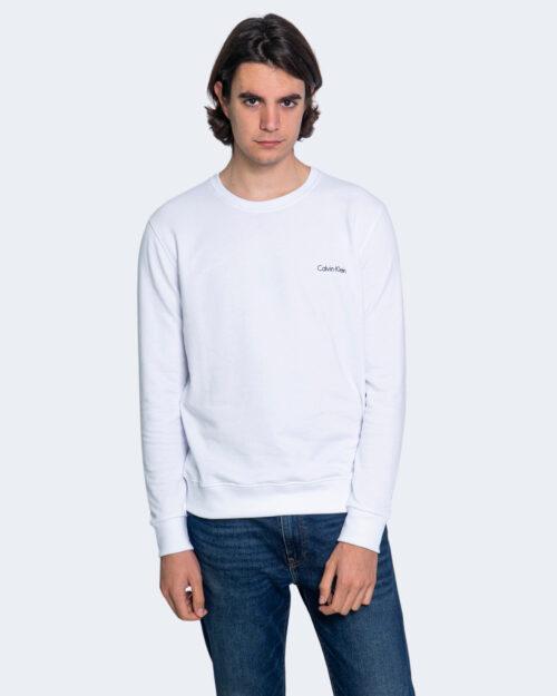 Felpa senza cappuccio Calvin Klein SWEATSHIRT Bianco – 65248